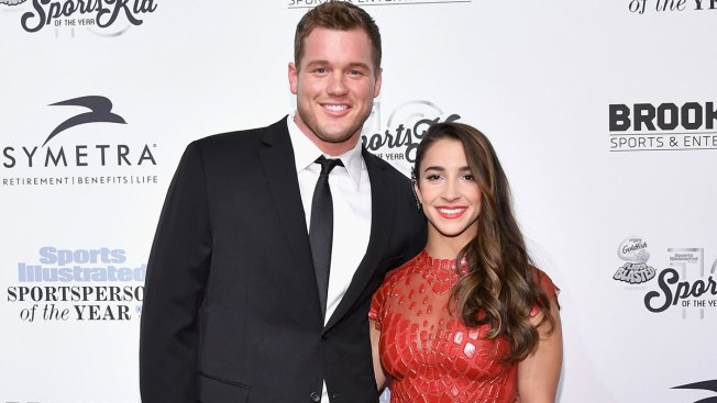 It's Official! Aly Raisman and Colton Underwood Make Red Carpet Debut as a Couple