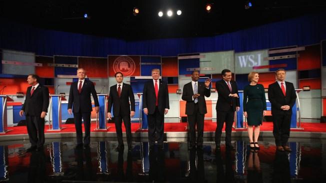 Trump At Center Stage But Cruz In Spotlight At GOP Debate