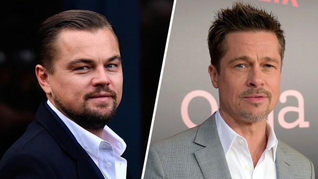 DiCaprio, Pitt to Star in Tarantino's Manson Movie