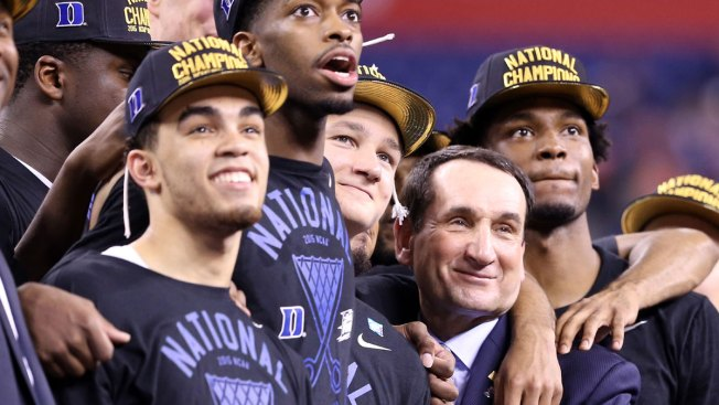 Coach K Responds to Auriemma's 'Joke' Comments