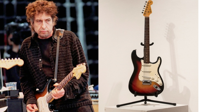 Bob Dylan's Newport Guitar Sells for $965,000