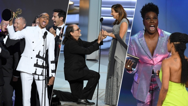 [NATL] Photo Highlights of the 2018 Emmy Awards: From the Red Carpet to the Stage