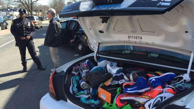 Stuff a Cruiser: Police Help Collect Shoes for The Homeless