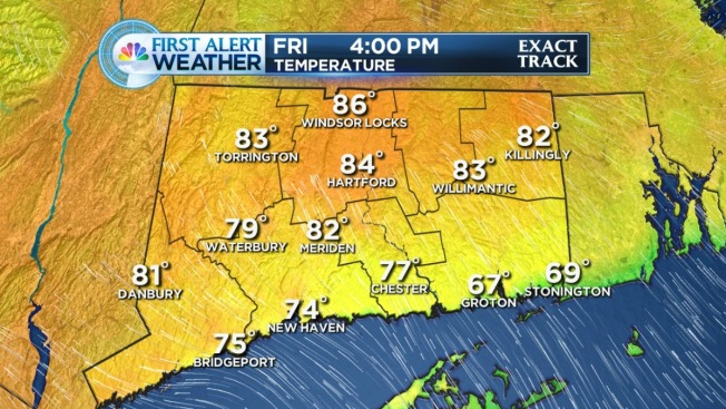 Drier Air Moves in for Friday