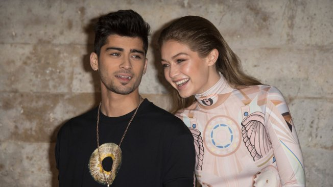 Gigi Hadid Photographs Boyfriend Zayn Malik for Versace