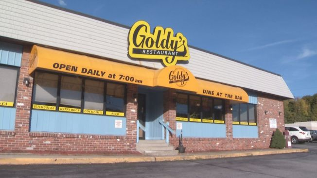 Customers Enjoy a Last Breakfast at Goldy's in New London