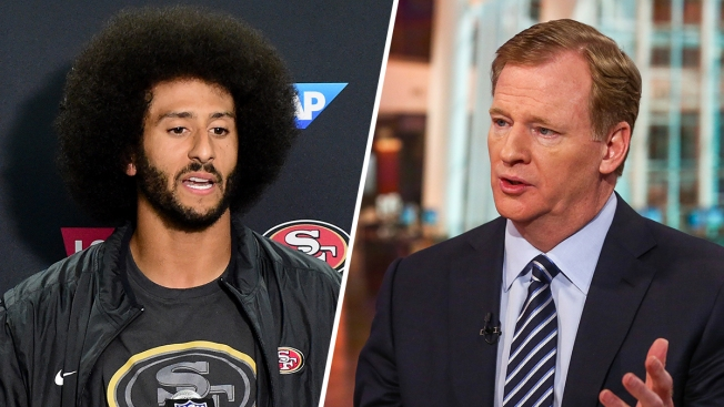 NFL Commissioner Goodell Doesn't Agree With QB Anthem Kneel