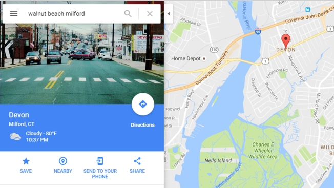 Google Maps Steering Milford Drivers in the Wrong Direction
