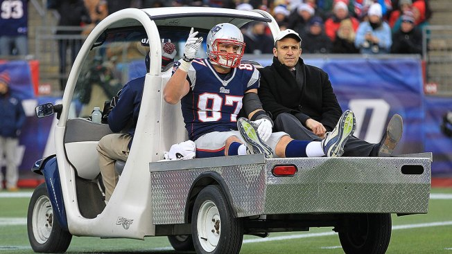 Pats Win, but Gronk Injured