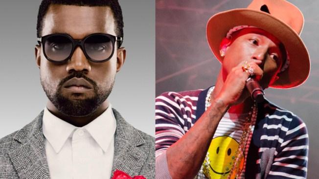 Pharrell Williams, Kanye West to Headline Made in America Festival