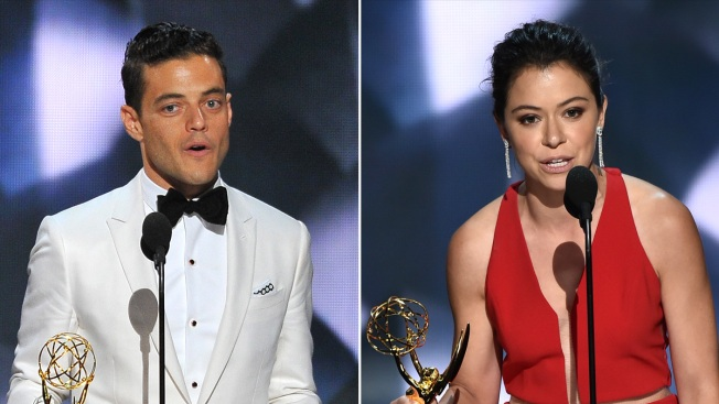 Rami Malek, Tatiana Maslany, 'Thrones' Take Home Top Emmy Drama Awards