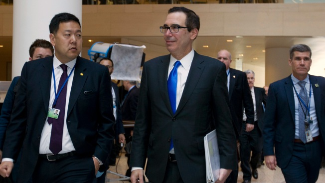 Mnuchin Expresses Optimism Trade Standoffs Can Be Resolved