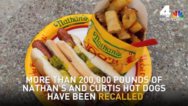 What Nathan S Hot Dog Have Been Recalled