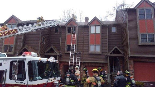 Crews Put Out Fire at Norwich Condominium