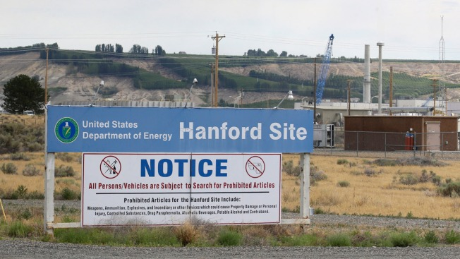 Nuclear Waste Tunnel Collapses in Washington State