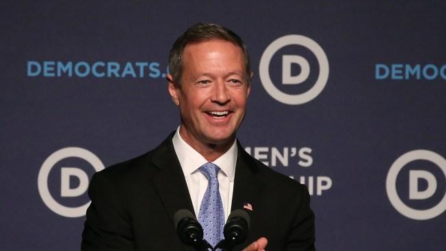 Ex-Maryland Gov. O'Malley Says He Won't Seek to Lead DNC