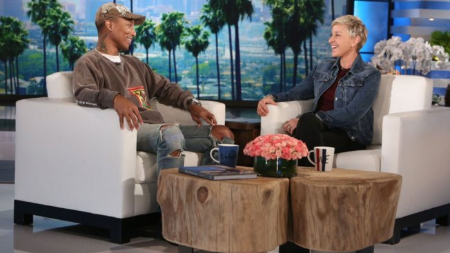 Pharrell Joins Ellen to Discuss Kim Burrell Anti-Gay Controversy