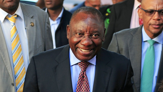 Cyril Ramaphosa Sworn in as South Africa's New President