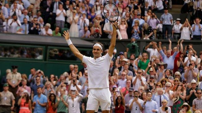 Roger Federer Captures 8th Wimbledon Title