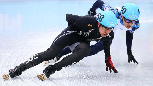 U.S. Wins Silver in Men's 5,000M Short Track Relay