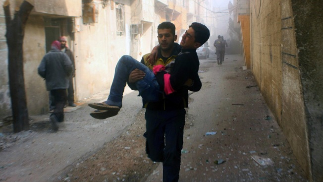 Violence Rages in Syria as UN Calls to Stop 'Hell on Earth'