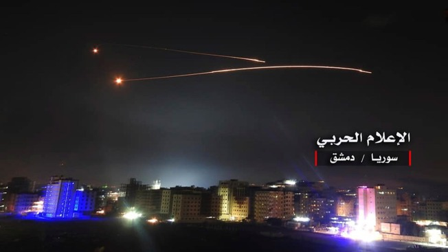Israel Hits Dozens of Iranian Targets in Syria After Barrage