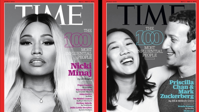 Time Magazine Unveils '100 Most Influential People'