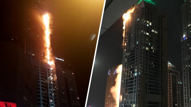 Small Fire Strikes Another Tower in the Dubai Marina