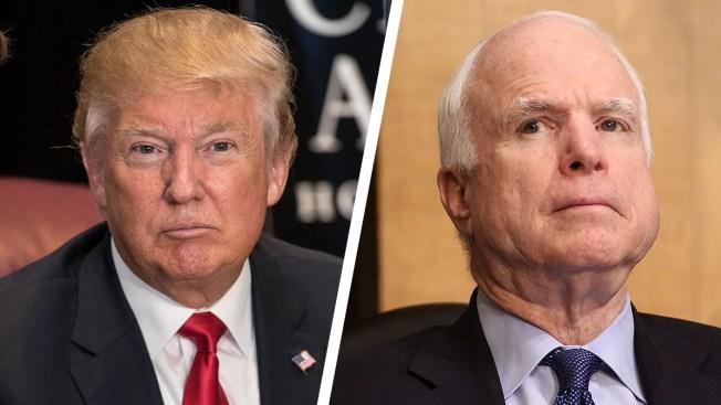 McCain, VFW Slam Trump Over Attacks on Family of Slain Soldier
