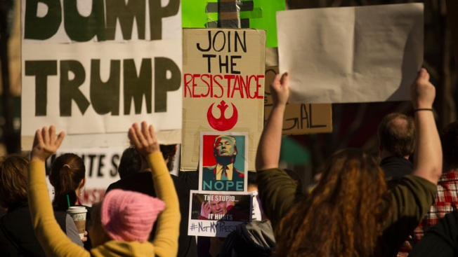 A DIY Resistance Tries to Keep the Fight Against Trump Fresh