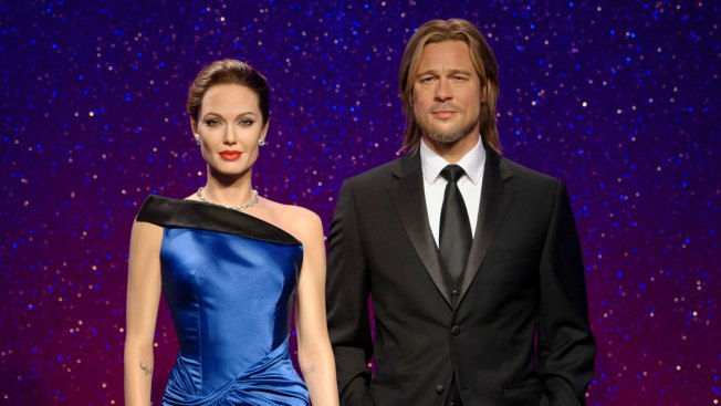 Madame Tussauds Separates Angelina Jolie's and Brad Pitt's Wax Figures