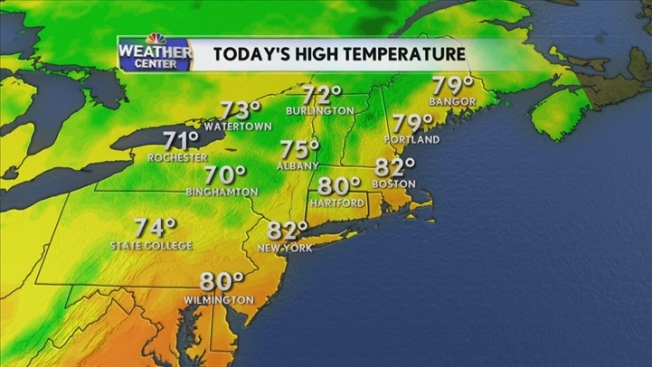 Weather Video Forecast, Midday, August 22, 2011
