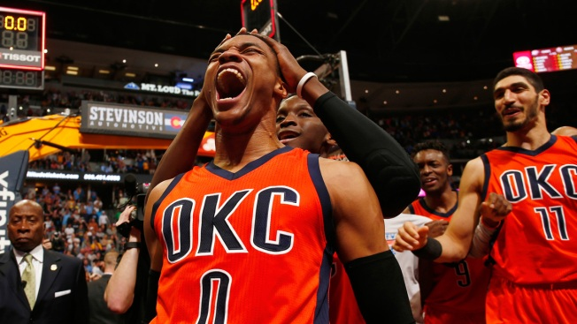 Russell Westbrook named MVP at NBA Awards show
