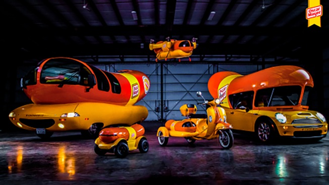Oscar Mayer introduces the Wienerfleet - including the WienerDrone and WienerCycle