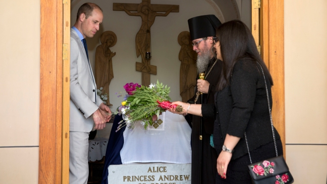 Prince William Tours Jerusalem on Final Day of Royal Visit