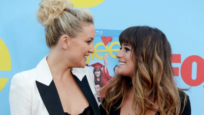 Lea Michele: Kate Hudson Helped Me Cope After Cory Monteith's Death
