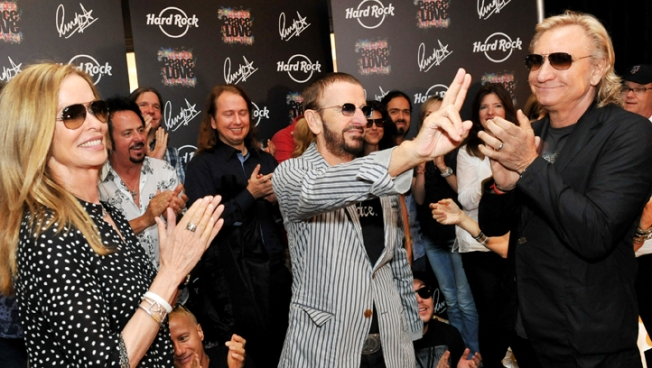 Ringo Starr Turns 72 in Nashville With Peace, Love