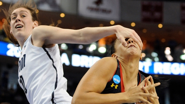 UConn Downs Maryland, On To Elite Eight