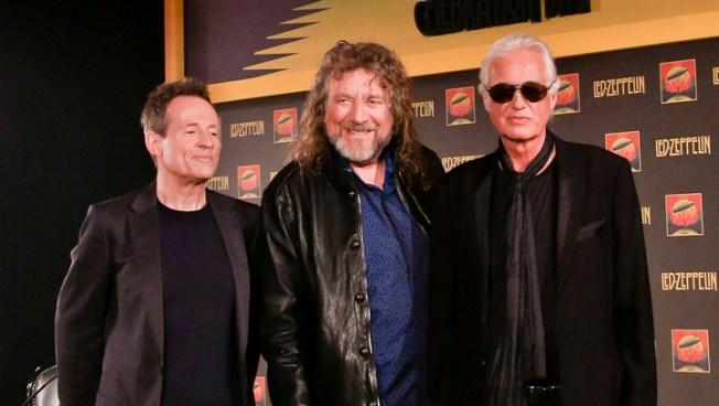 Led Zeppelin Tout Concert Film, Mum on Future Plans