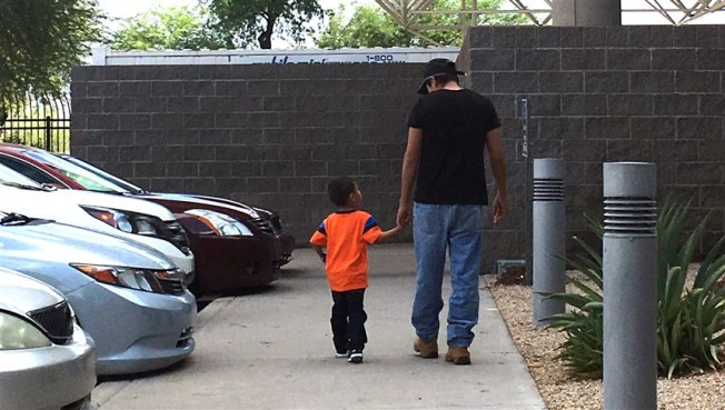 After Two Month Separation, a Honduran Father Says His 3-Year-Old Son Is Not the Same