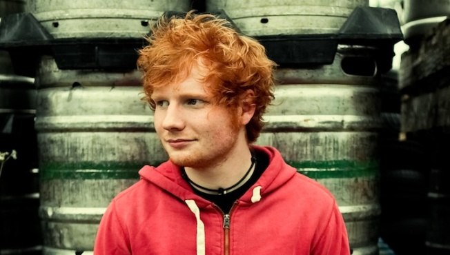 1st Look Loves: Singer-Songwriter Star Ed Sheeran