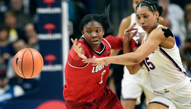 Fueled by Early Run, No. 1 UConn Tops No. 4 Louisville