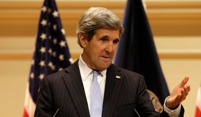 Kerry, Karzai Bury the Hatchet in Kabul