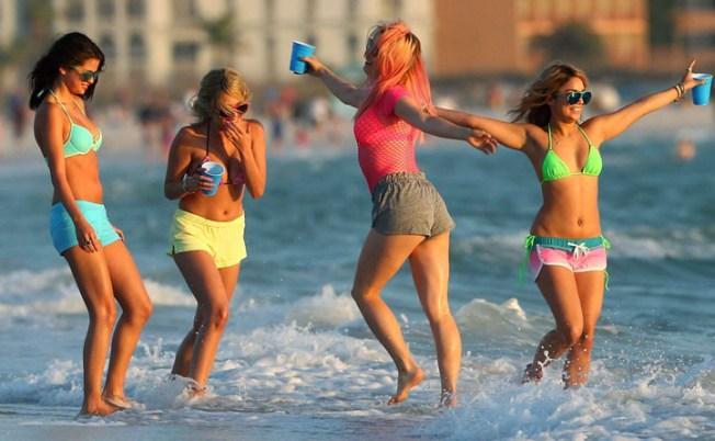 """Spring Breakers"" Has Bikini-Clad Debut at SXSW"