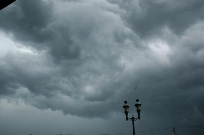 Weather Changes With Cold Front, Thunder