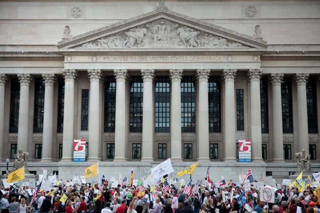 Tea Party Protests Still Have Steam