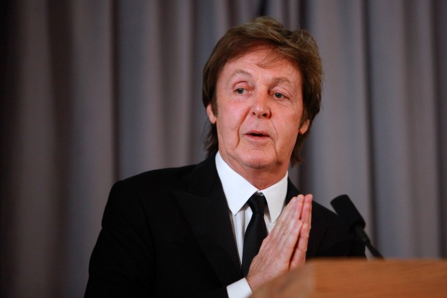 Paul McCartney Looks to Yesterday