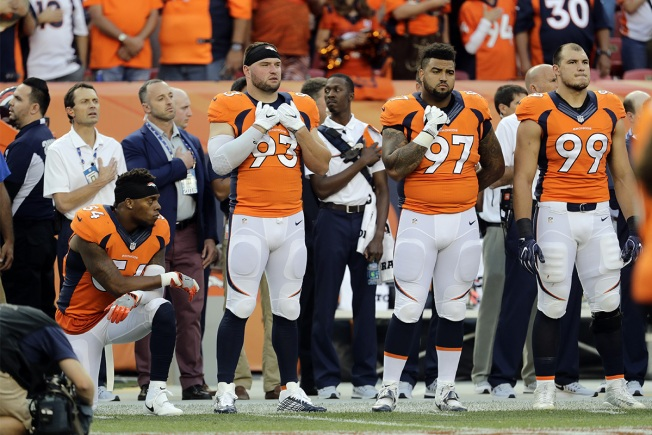 Brandon Marshall Loses Endorsement Deal Over Anthem Kneel