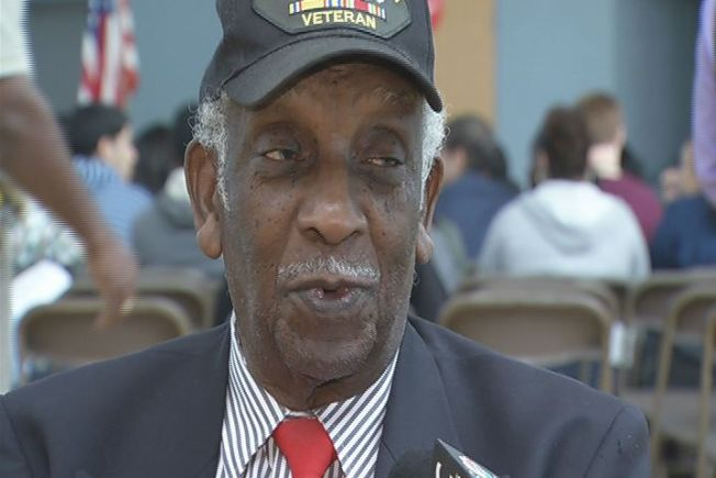 New Haven Honors Tuskegee Airman