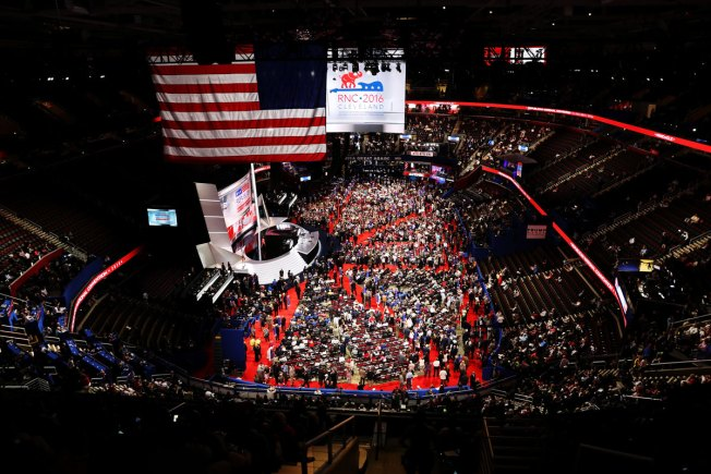 GOP Convention Planners Come Down With Stomach Flu